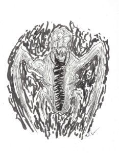 Horror Creature Sketch