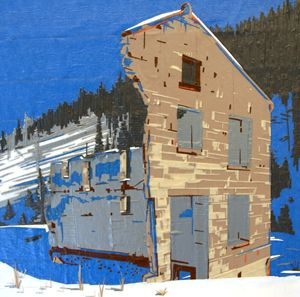 Tapeart of Winter Quarters - Ezetary Art