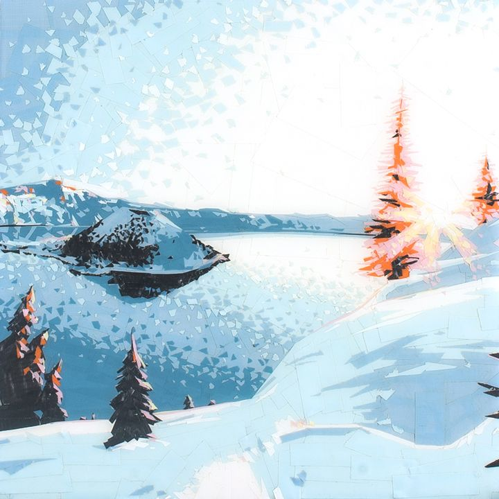 Crater Lake - Ezetary Art