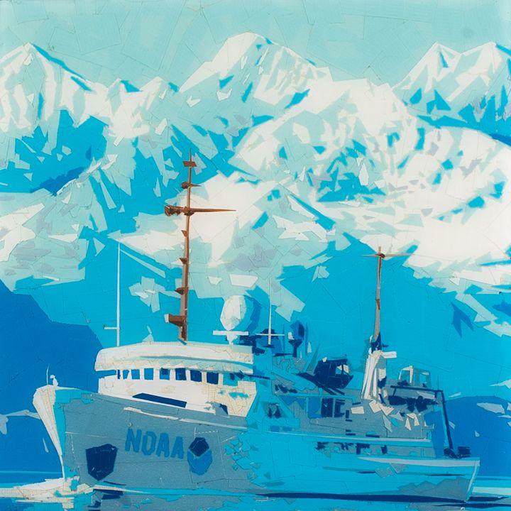 Glacier Bay - Ezetary Art