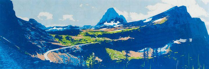 Glacier - Ezetary Art