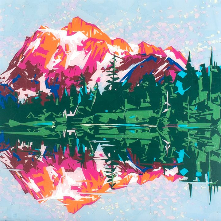 North Cascades - Ezetary Art