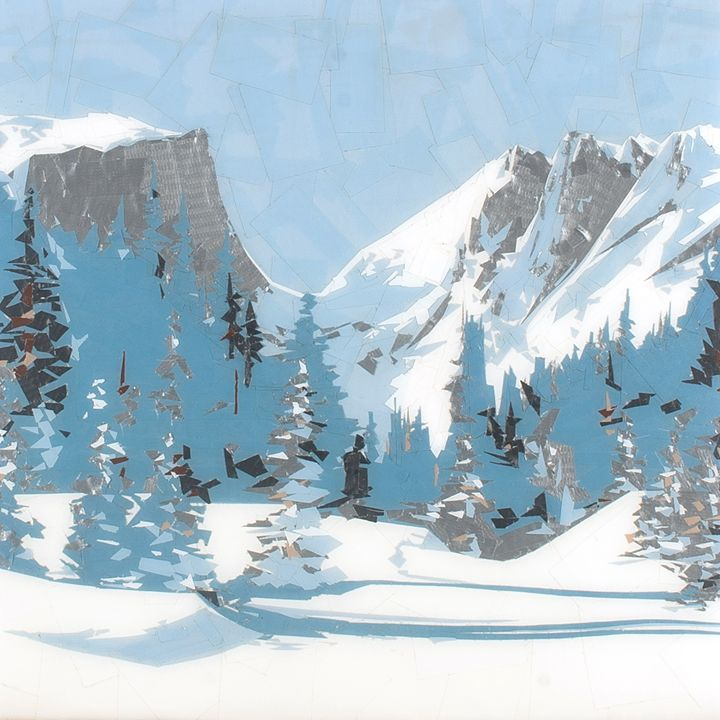 Rocky Mountain - Ezetary Art
