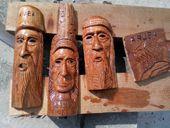 wood unique sculpture