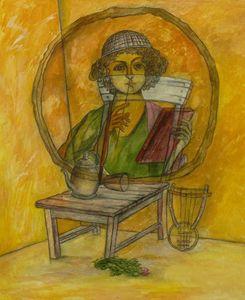Poet's portrait