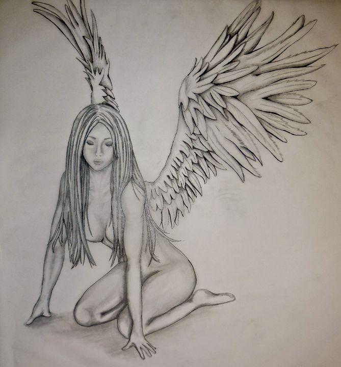 Innocent Fallen Angel - Sarah Zywicki Gillgam