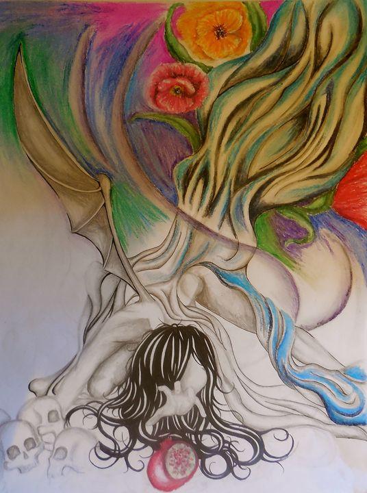 Fallen Persephone - Sarah Zywicki Gillgam
