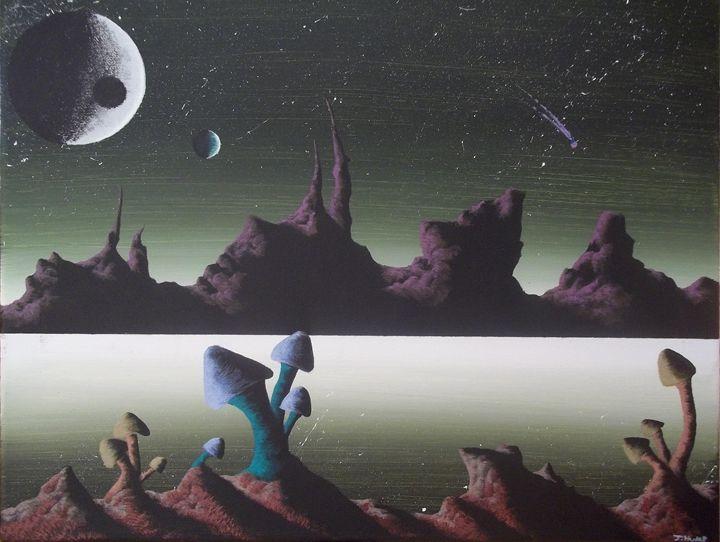 Mushroom - Acrylics By: J-Hump