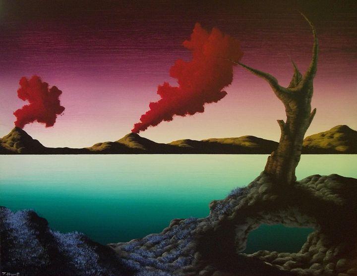 Dragons Breath - Acrylics By: J-Hump