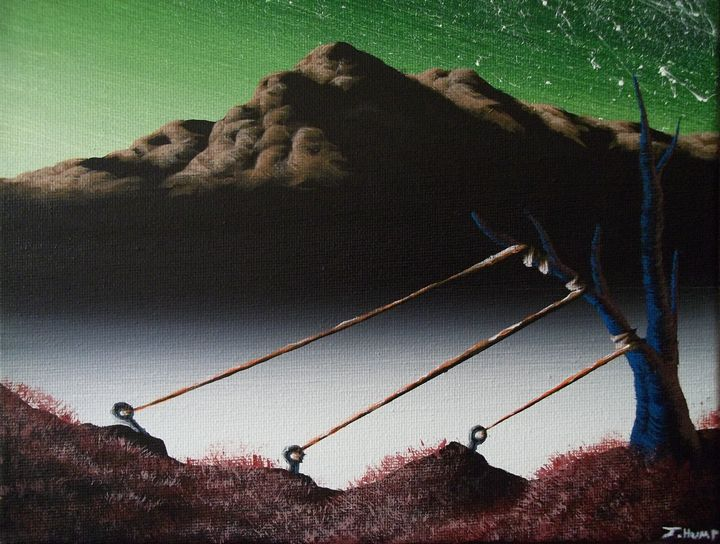 Staked - Acrylics By: J-Hump