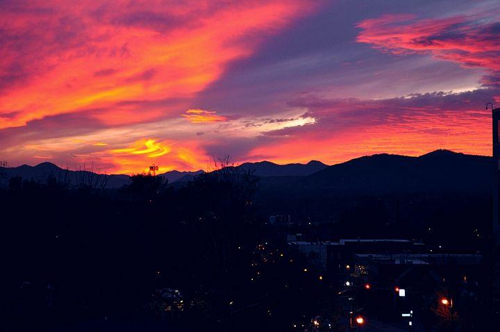 Asheville sunset - Amanda Vogtman