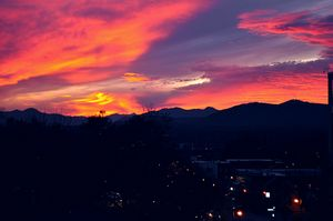 Asheville sunset