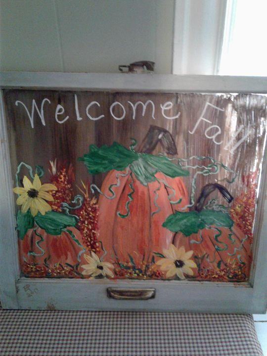 Welcome Fall - Elly's Paintings