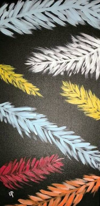 Feathers - Elly's Paintings