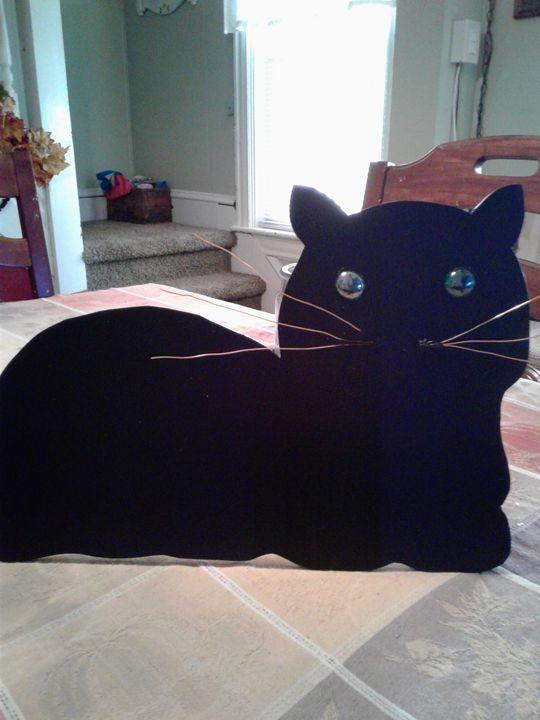 Black Cat - Elly's Paintings