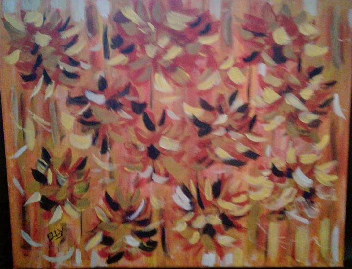 Abstract Fall - Elly's Paintings