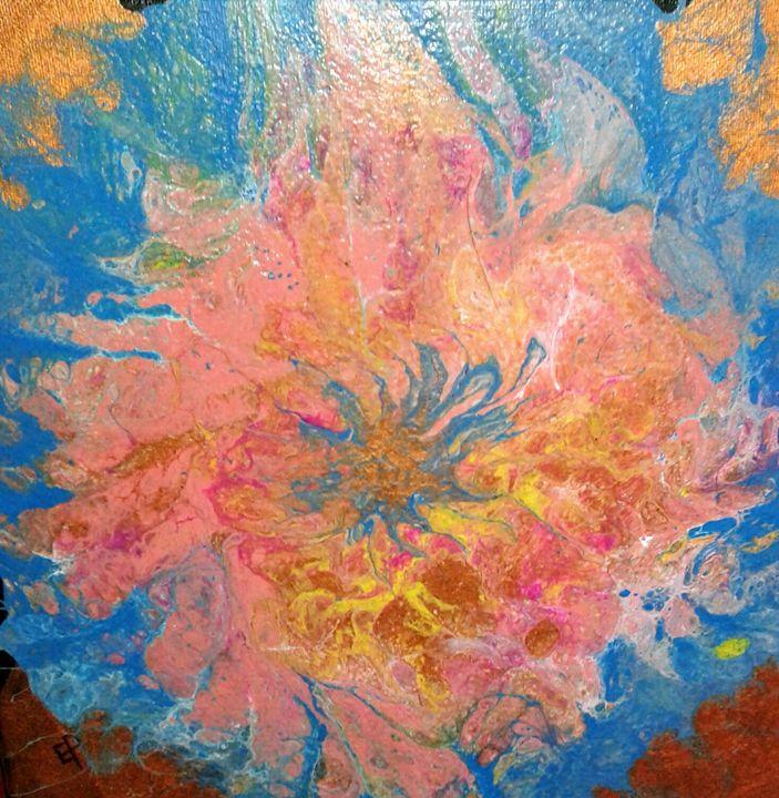 Flower burst - Elly's Paintings