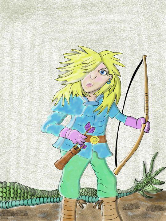 Jess The Dragon Rider - Lynne Marie Studios, Inc.