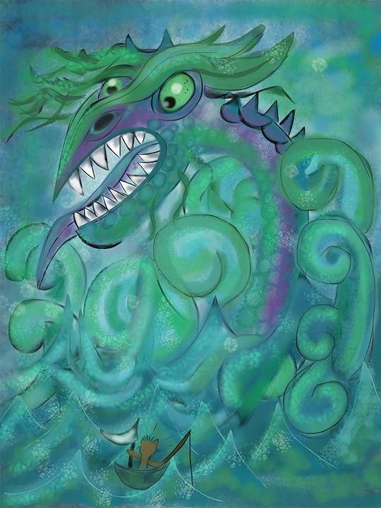 Bad Day For Fishing - Lynne Marie Studios, Inc.