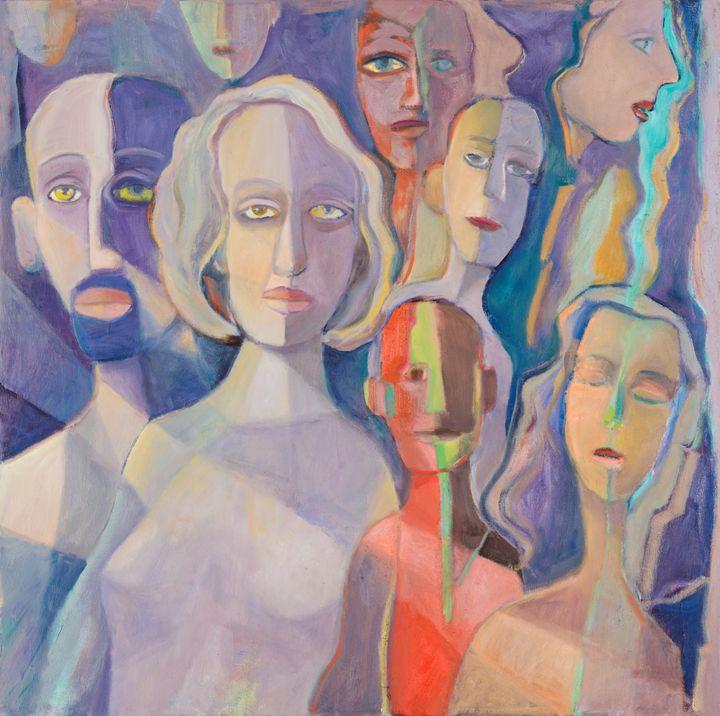 Faces I - The Artist's Studio