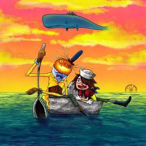 Kid Pirate and Pumpkin-Head