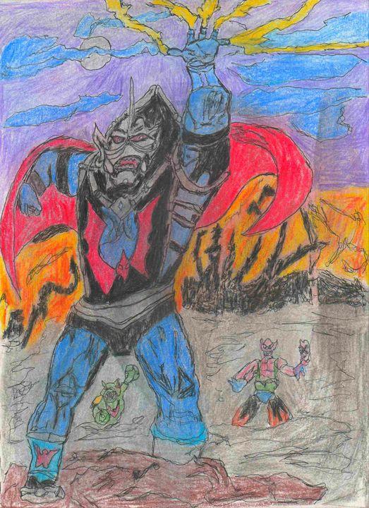 Hordak leader of the evil horde - House of l