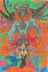 Demonic entity and succubus