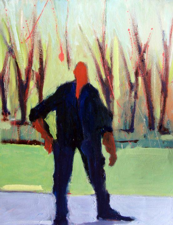 Landscape Figure - FineArtbyMichaelKelly