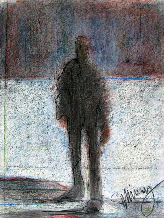 Evening Figure - FineArtbyMichaelKelly