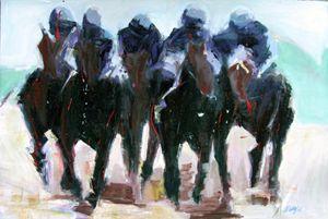 Horse Race Image IV; Presence