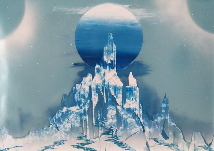 Crystal Palace - AKI Spray Paint