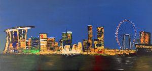 Marina Bay Skyline - Matt Brady