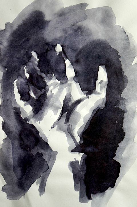 Hand in the Dark - Ink - zaCHANGE gallery