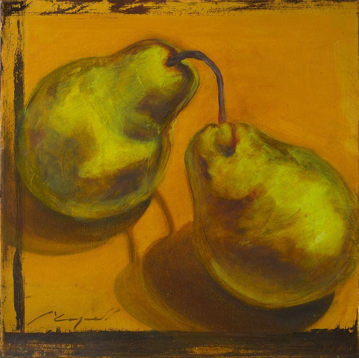 pears - Chad Maxwell-fine artist