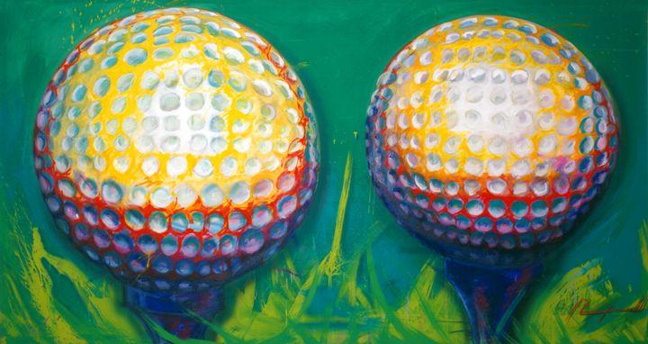 Golf - Chad Maxwell-fine artist