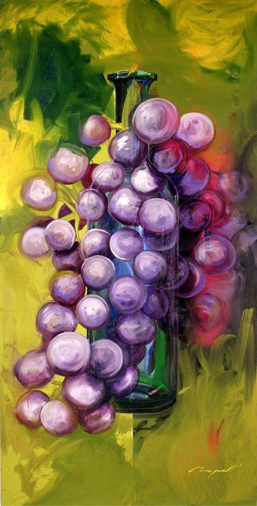 Wine - Chad Maxwell-fine artist