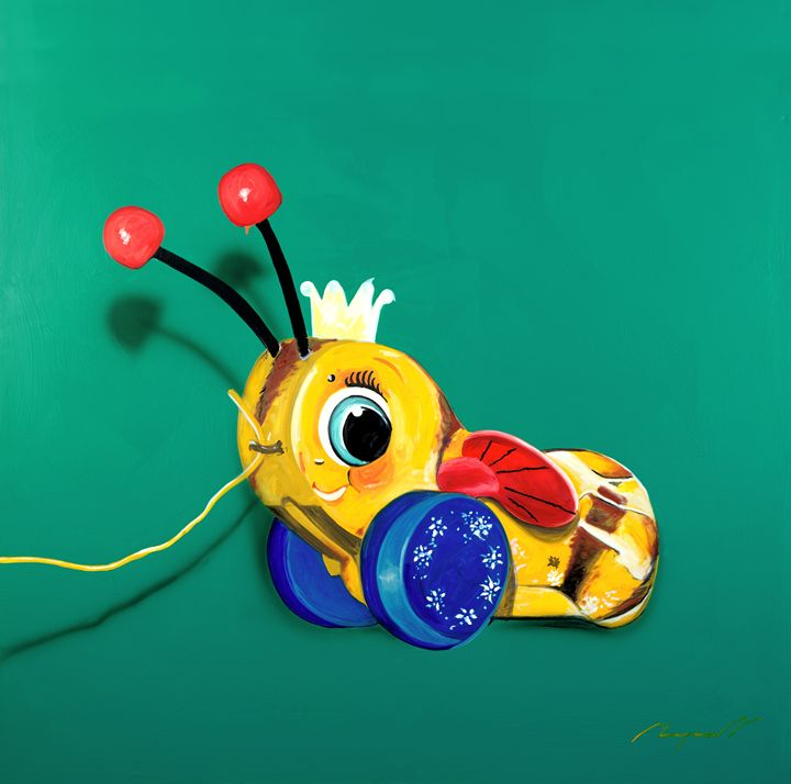 Bumble bee - Chad Maxwell-fine artist