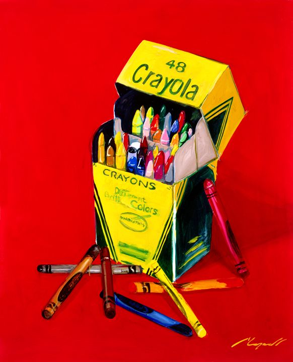 Crayola - Chad Maxwell-fine artist