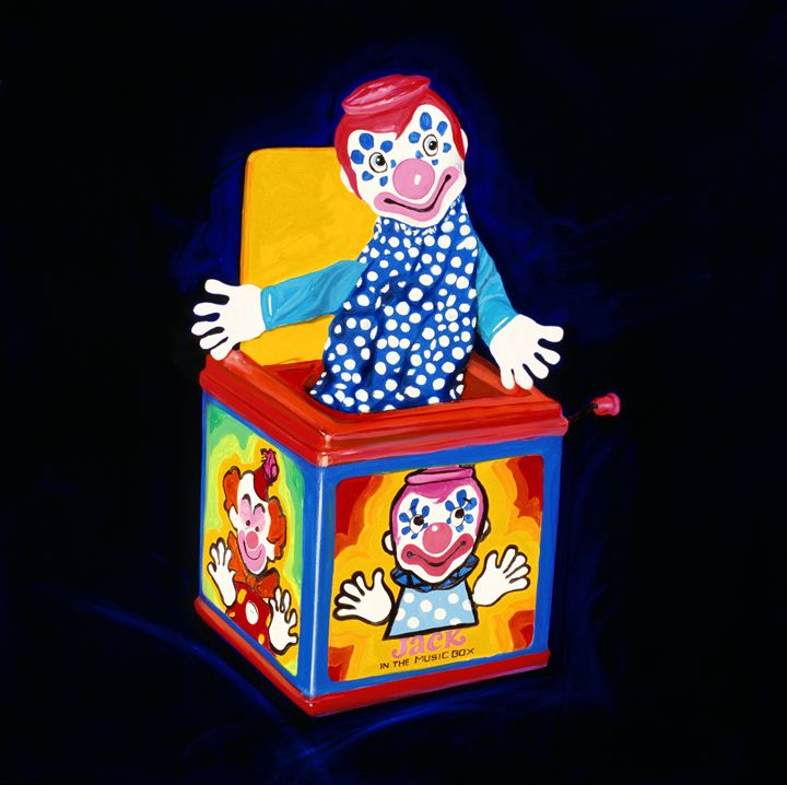 Jack in the box - Chad Maxwell-fine artist