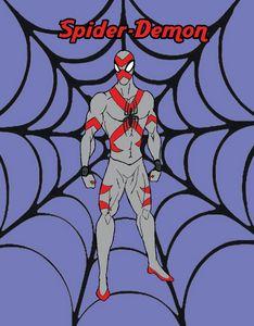 Spider-Demon: original costume art