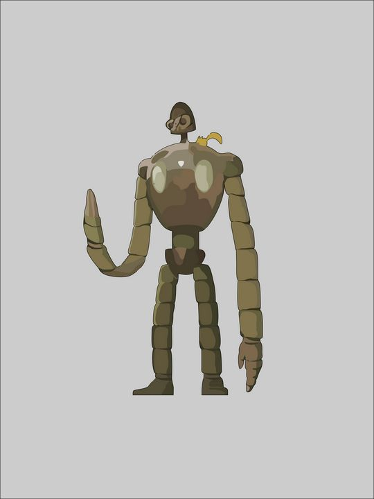 Laputa Robot Illustration - Furillustrate
