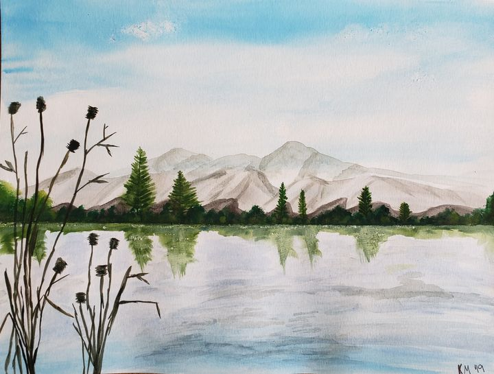 A Quiet Day on the Lake - Kimberly McFarland