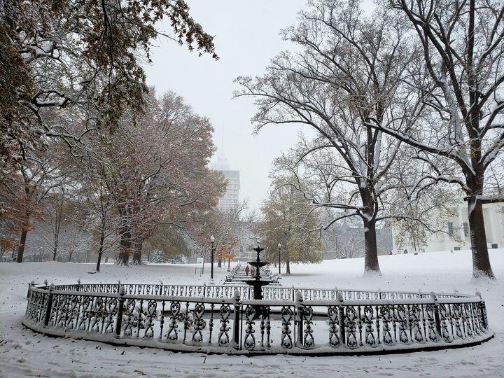 VA Capitol in Winter - Kimberly McFarland