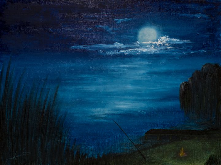 blue moon - Nicolae Marius David