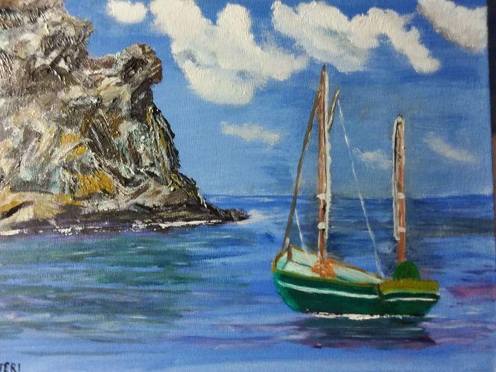 Sailboat - Johns Art
