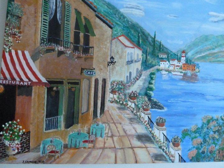 Seaside Village Restaurant - Johns Art