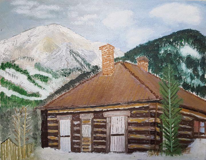 Log Cabin - Johns Art