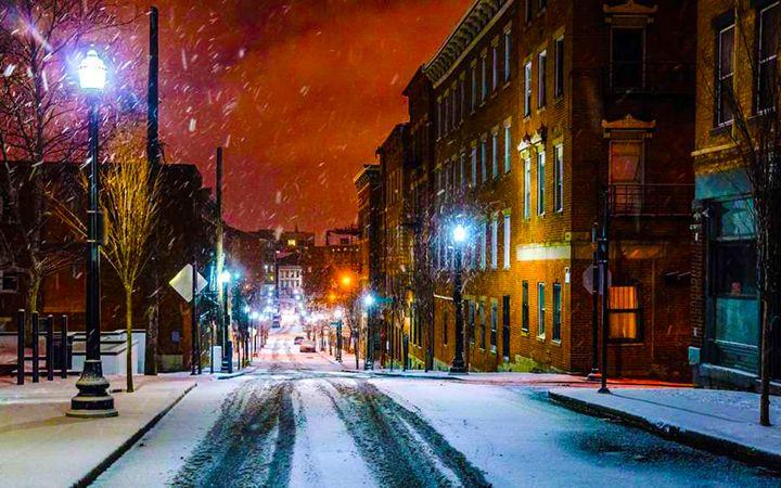 Snowy City St. - Daniel