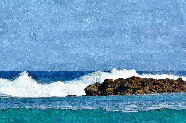Splashing Surf - William Butman