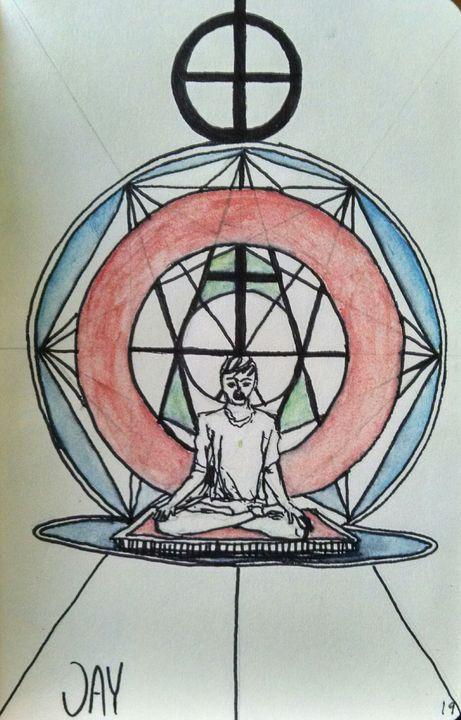 Sacred Trance Formation - JAYartwork